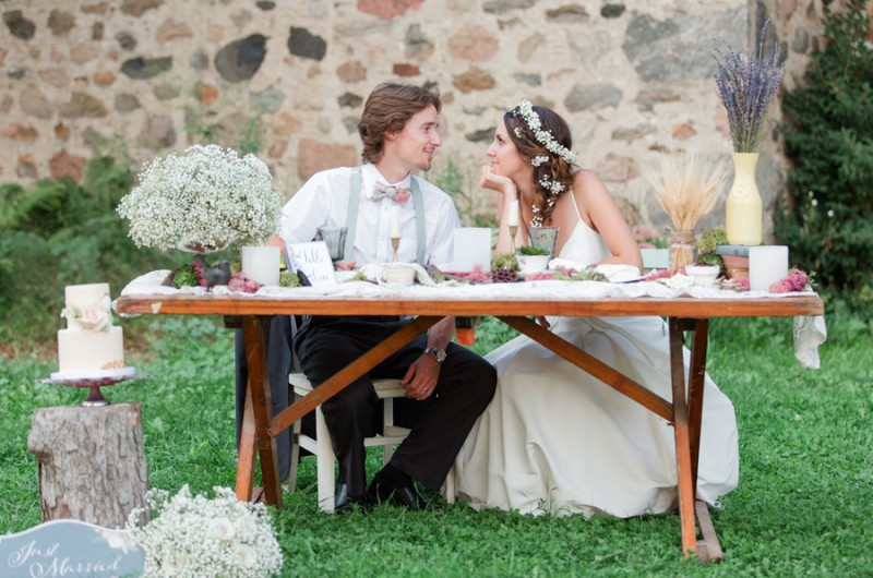 Image for An Adorably Vintage Wedding Inspiration Shoot