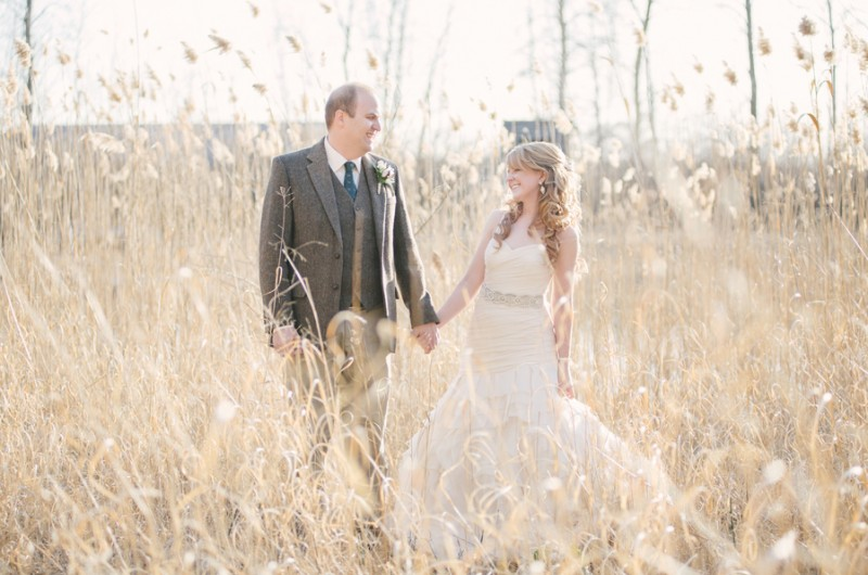 Image for Taylor and Joshua's Woodland Deer-Themed Wedding