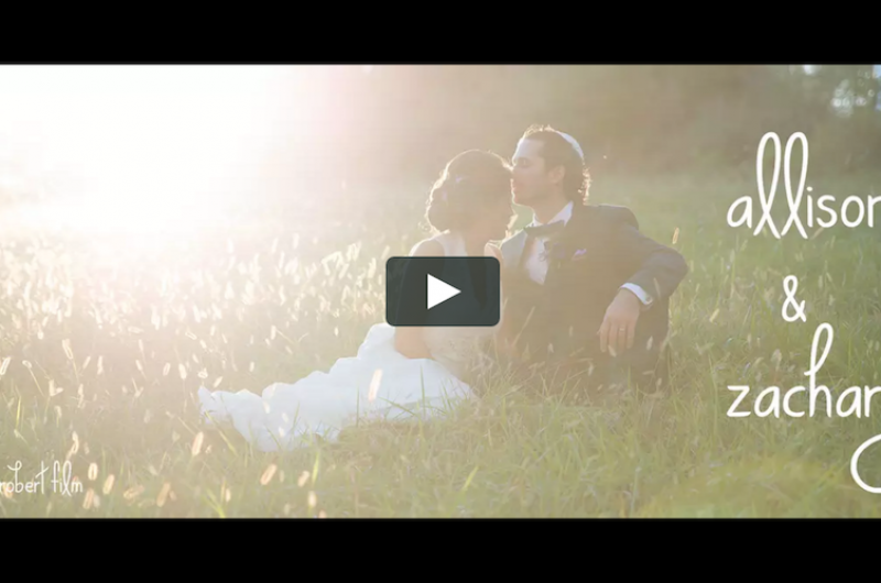 Image for [VIDEO] Allison and Zachary's Gorgeously Styled Wedding at Brookmill Farm