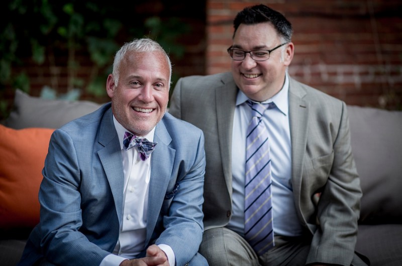 Image for Will and Kent's Intimate Restaurant Wedding Reception