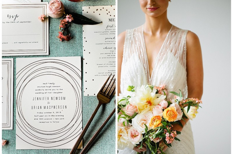 Image for Dreamy Mint and Rose Gold Styled Shoot with Minted