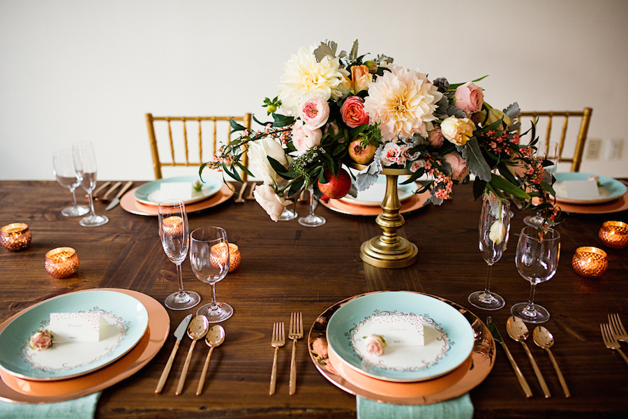 aisle-society-minted-inspiration-shoot-21Dreamy Mint and Rose Gold Styled Shoot with Minted