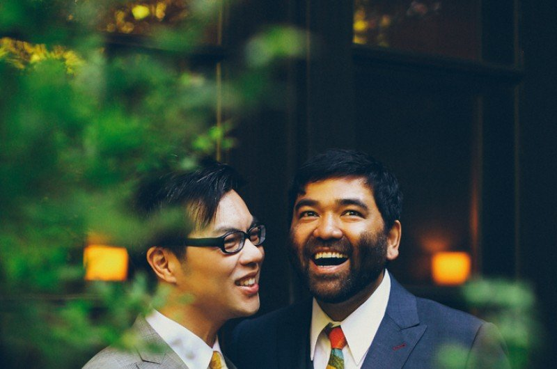 Image for Alex and Lawrence-Michael's Vintage Mad Men-Inspired Wedding