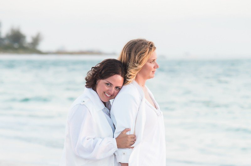 Image for Laura and Lauren's Nautical-Themed Beach Wedding at Longboat Key