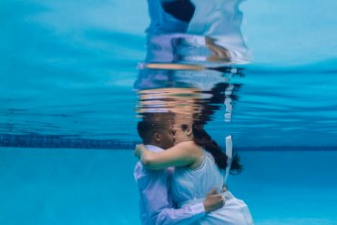 Underwater Engagement Shoot by Melissa McClure Photography