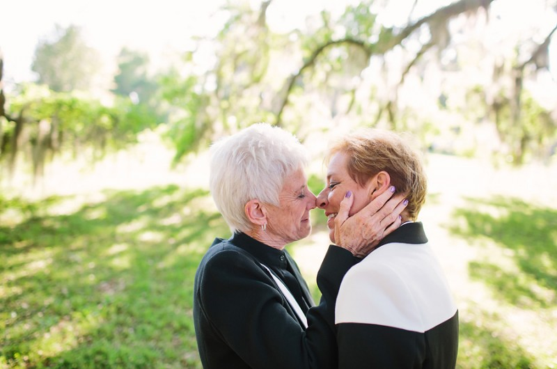 Image for Donna and Lynne's Backyard Ceremony with Love-Driven Details