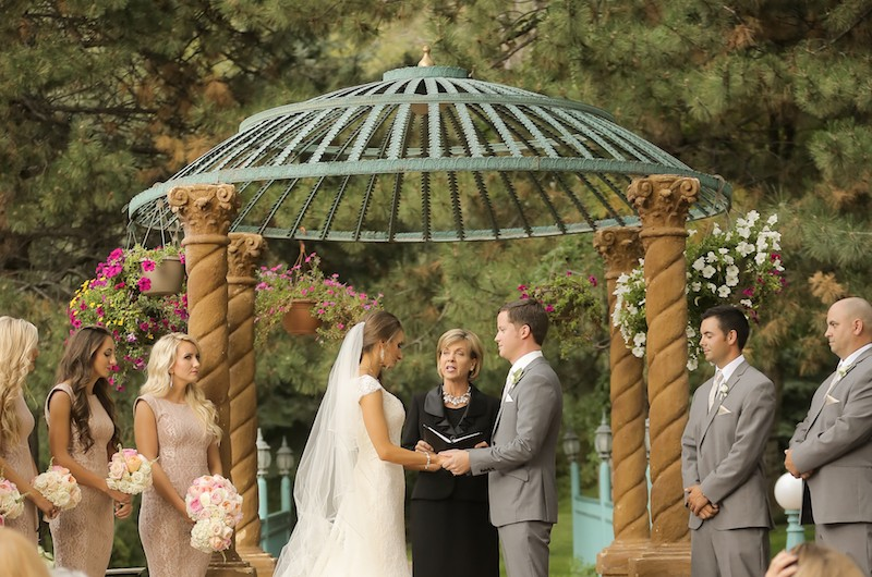 Image for Tim and Clarissa's Stunning Romantic Wedding at La Caille