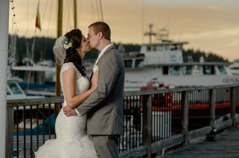 Image for Breanna and David's Wedding at Lime Kiln Lighthouse (with Orca Sightings!)