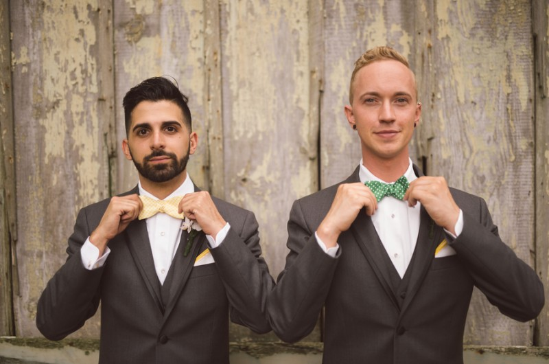 Image for Joe and Michael's Dapper Wedding at Historic Knowlton Mansion