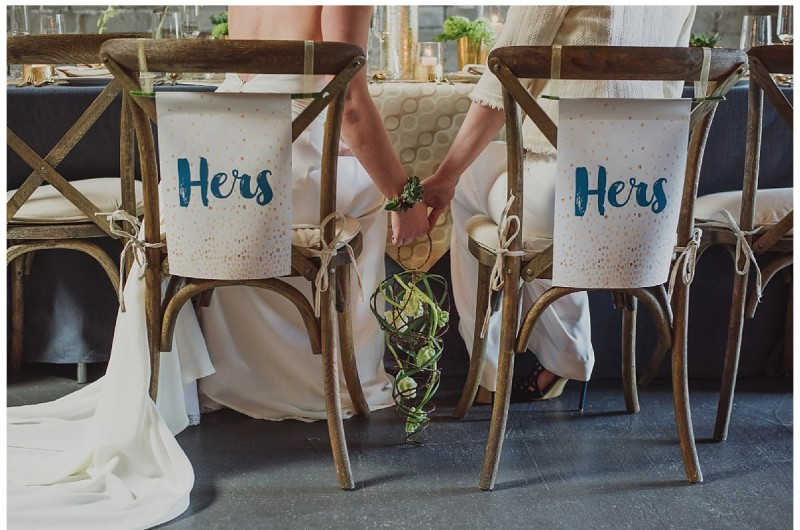 Image for Modern Urban Wedding Inspiration with Creative Details