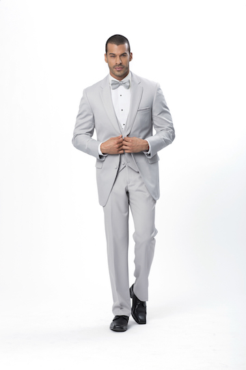 Allure For Xedo Cement Gray Suit
