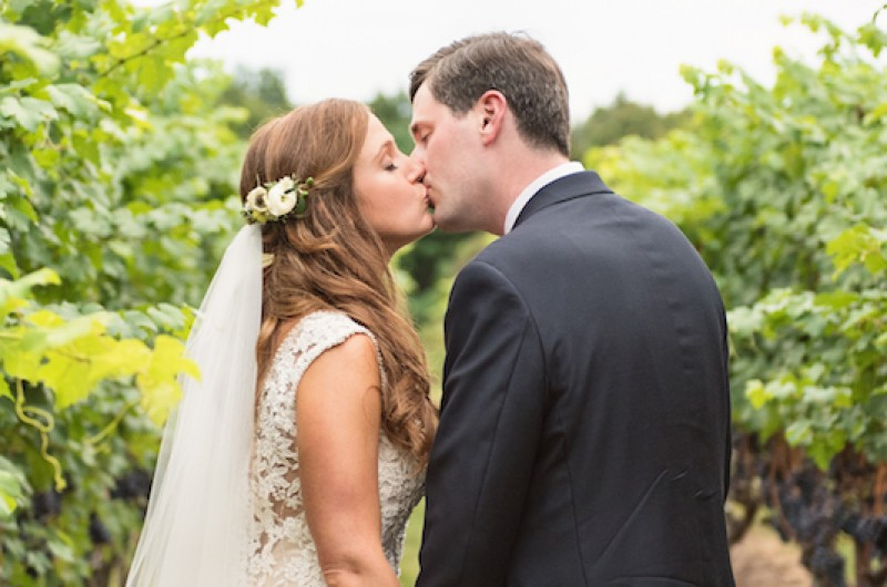 Image for Erin and Scott's Rustic Vineyard Wedding