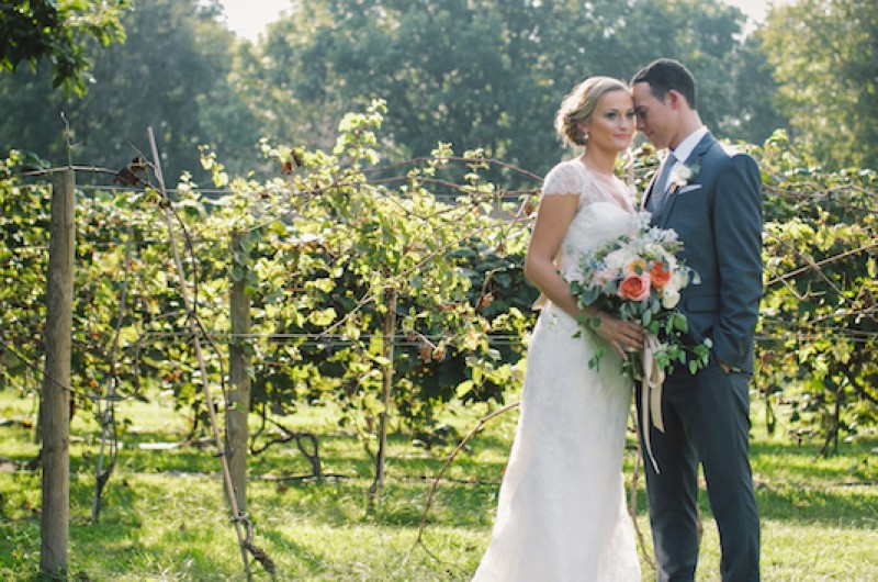 Image for Rochelle and Sam's Barn Wedding at Morgan Acres Vineyard