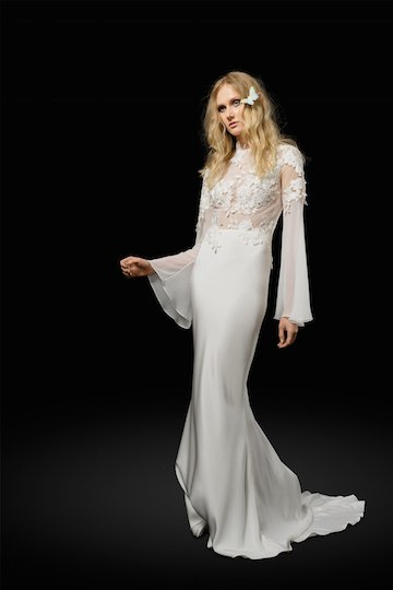 Freesia Wedding Dress by Elizabeth Fillmore Spring 2017 Collection