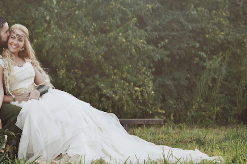Image for Alyssa and Sean's Magical Lord of the Rings-Inspired Wedding