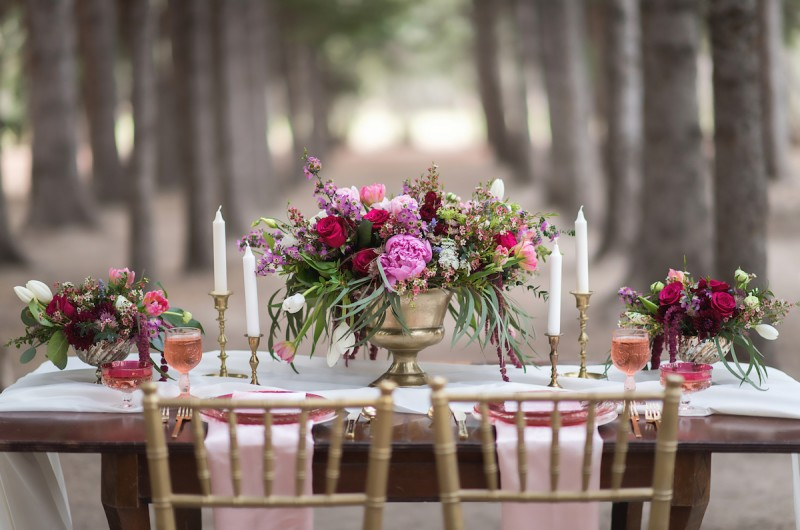 Image for A Romantically Glam Inspiration Shoot Between the Pines