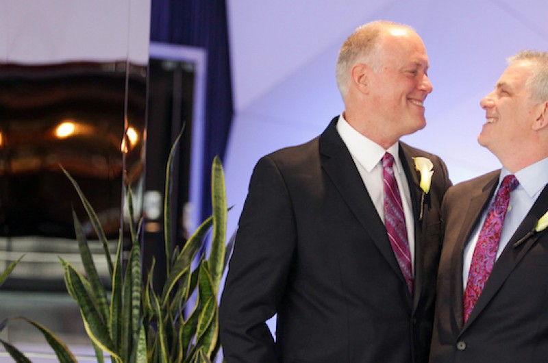 Image for Larry and David's Minneapolis Hotel Wedding