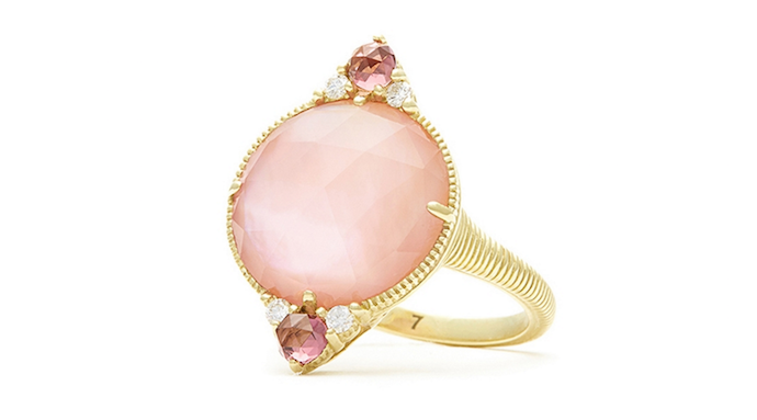 Think Pink 12 Vibrant Engagement And Wedding Rings With