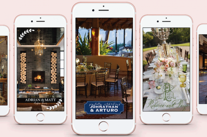 Image for Everything You Need to Know About Snapchat Geofilters for Your Wedding