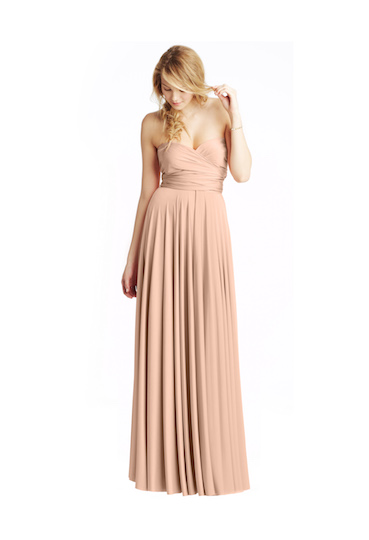 twobirds Bridesmaid Classic Collection in Rosewater
