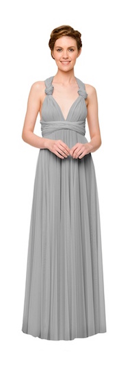 twobirds Bridesmaid Tulle Collection in Dove