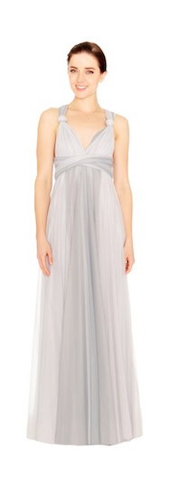 twobirds Bridesmaid Tulle Collection in Ombre Dove and Cloud