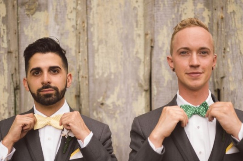 Image for 12 Stylish Knit Ties to Rock for Your Fall Wedding