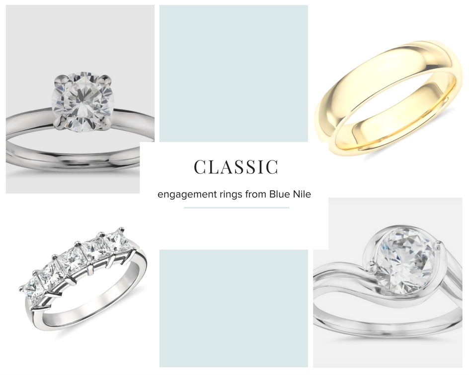 classic engagement rings from blue nile