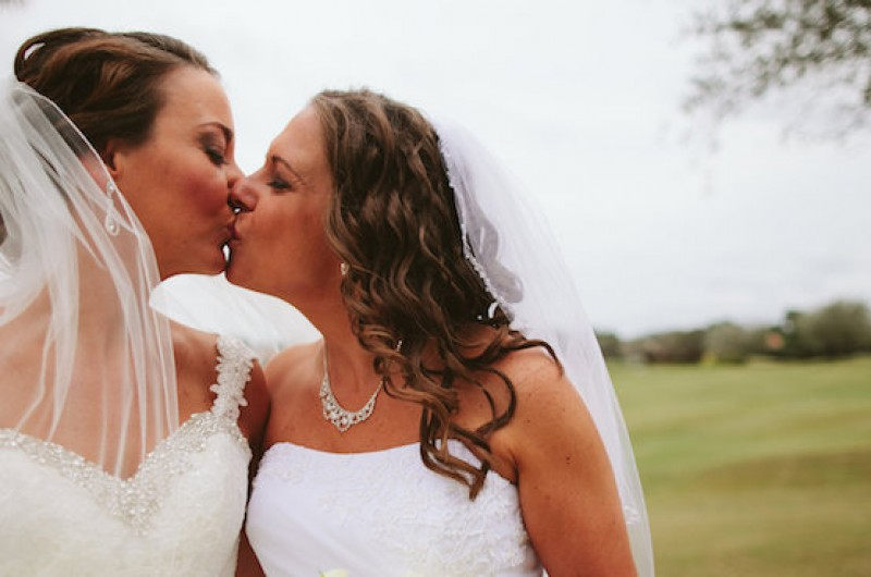 Image for Kimberly and Monica's Elegant Country Club Wedding