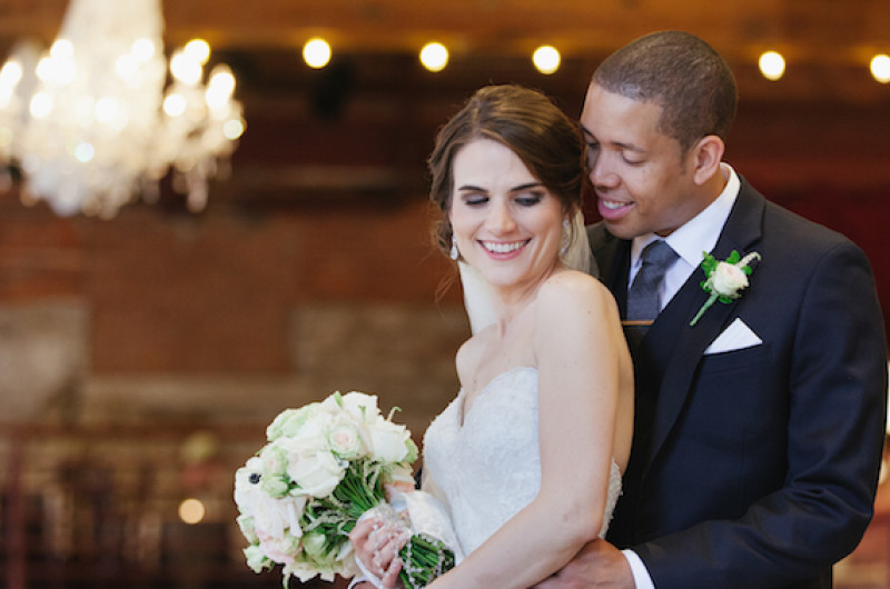 Image for Christie and Ingmar's Urban Chic Winery Reception