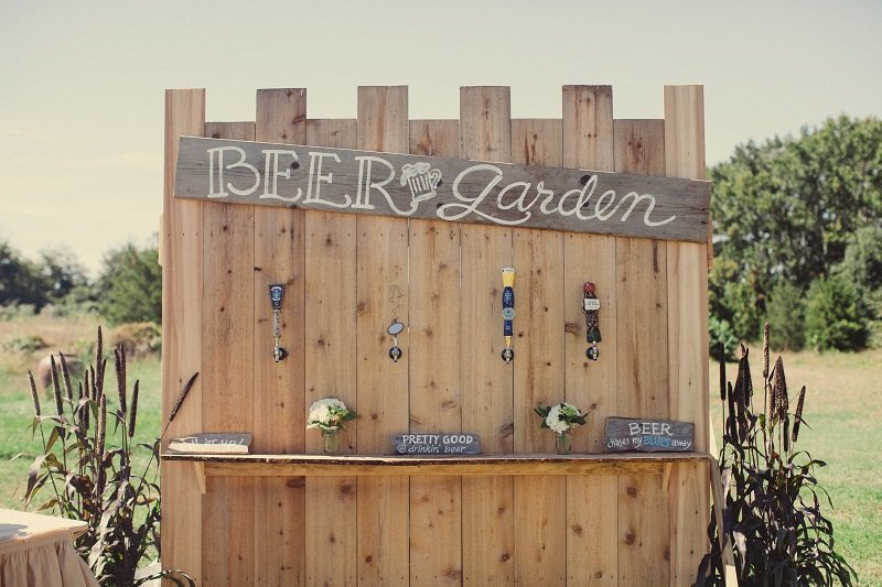 9 epic wedding beer stations love inc mag