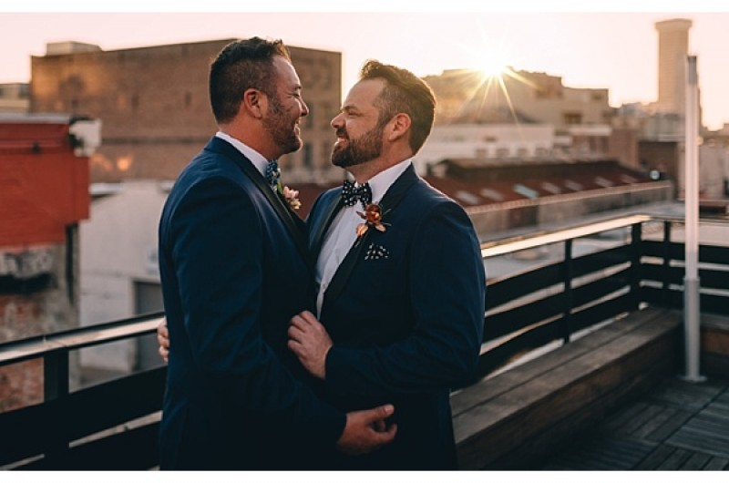 Image for Brent and Herb's Dark, Romantic New Orleans Wedding