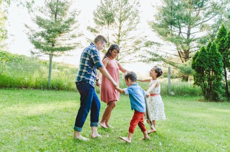 Image for Nicole and Jordan's Sunny Afternoon Family Session