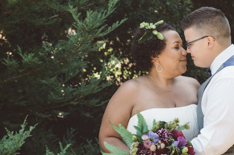 Image for Sara and Michelle's Rustic California Backyard Wedding