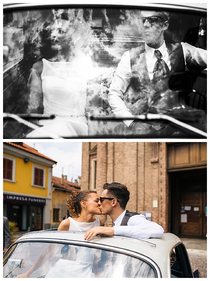 vintage-car-wedding-transporation-bride-and-groom-ludovica-and-valerio-photography