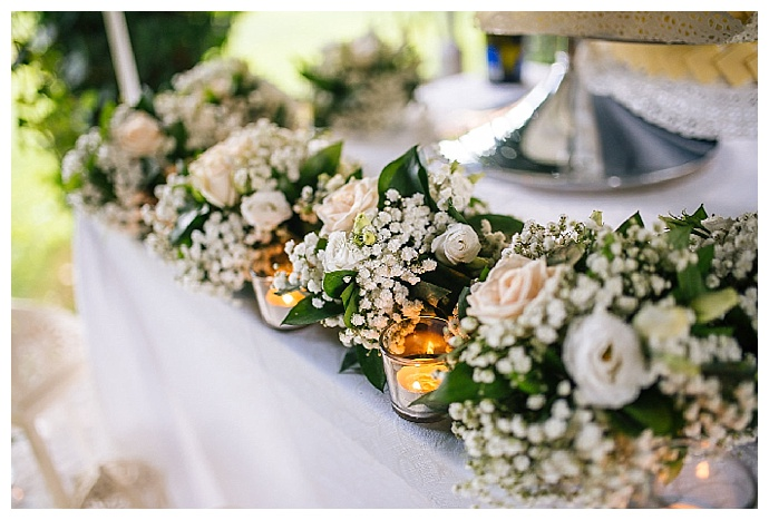 white-and-green-floral-arrangements-italian-wedding