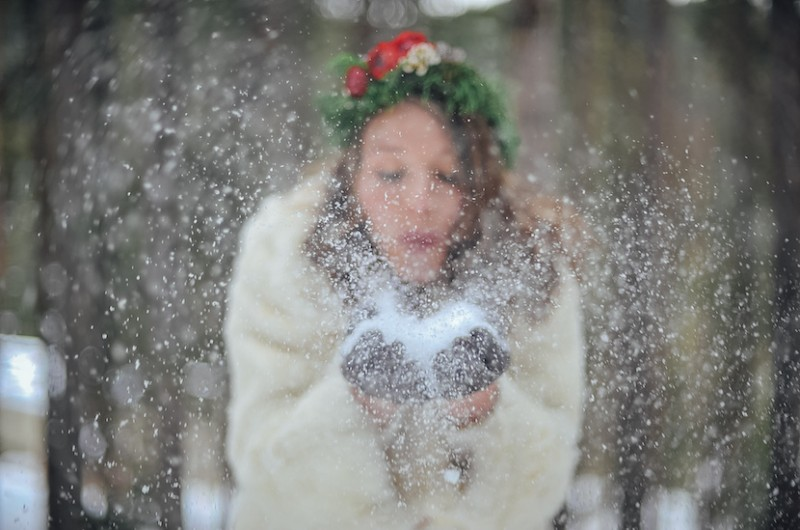 Image for Magical Bohemian Winter Wonderland Styled Shoot