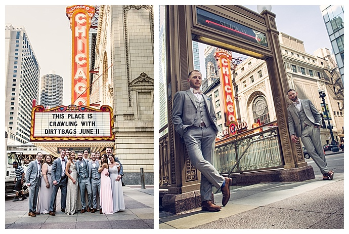 chicago-theatre-wedding-party-pictures-michael-novo-photography