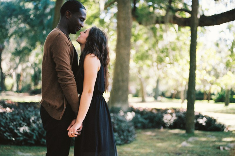 Image for Jameil and Olivia's Romantic Orlando Engagement Shoot