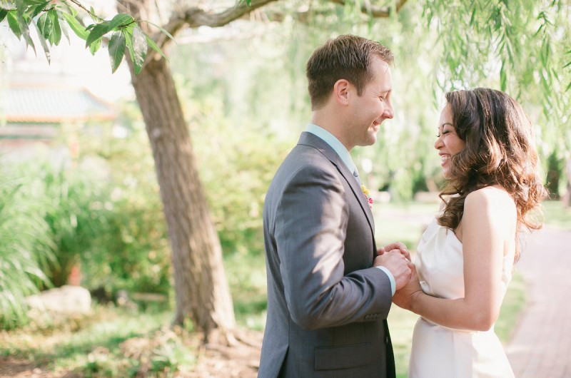 Image for Robyn and Pete's Lush Garden Wedding at Norfolk Pagoda