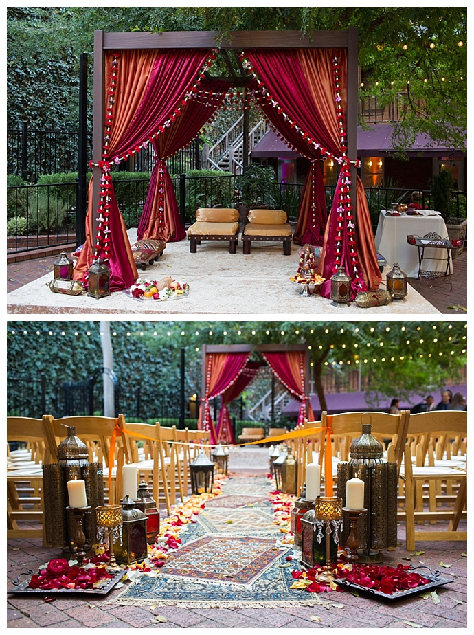 flower-lined-mandap-indian-wedding-sherman-chu-photography