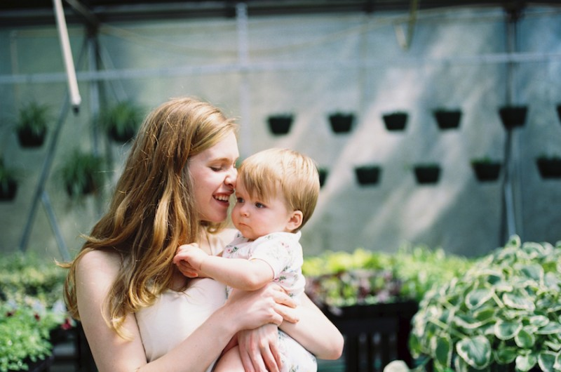 Image for An Adorable Greenhouse Mommy + Me Session
