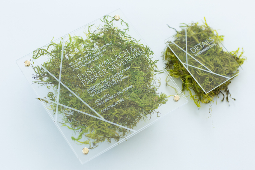 moss-and-acrylic-wedding-invitation