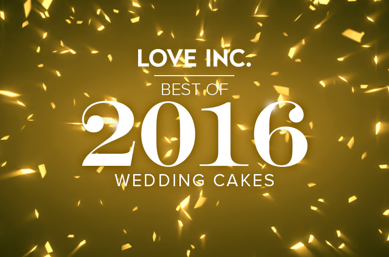 Image for Best of 2016: Wedding Cakes