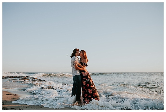 engagement-photos-in-the-ocean-forever-photography