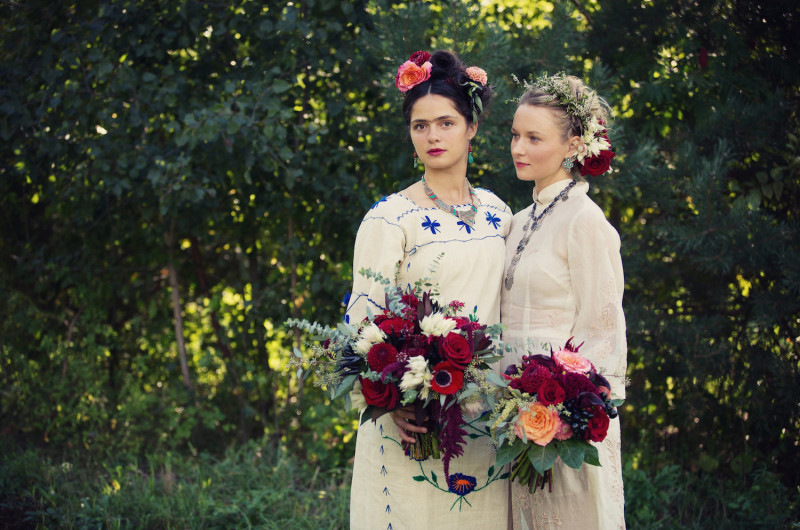 Image for A Vibrant, Vintage Styled Shoot Inspired by Frida Kahlo