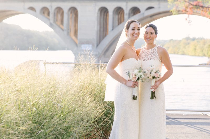 Image for Colleen and Jacki's Washington D.C. Themed Wedding
