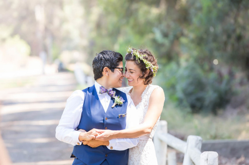 Image for Monique and Avital's Emotional Jewish Wedding at Walnut Grove