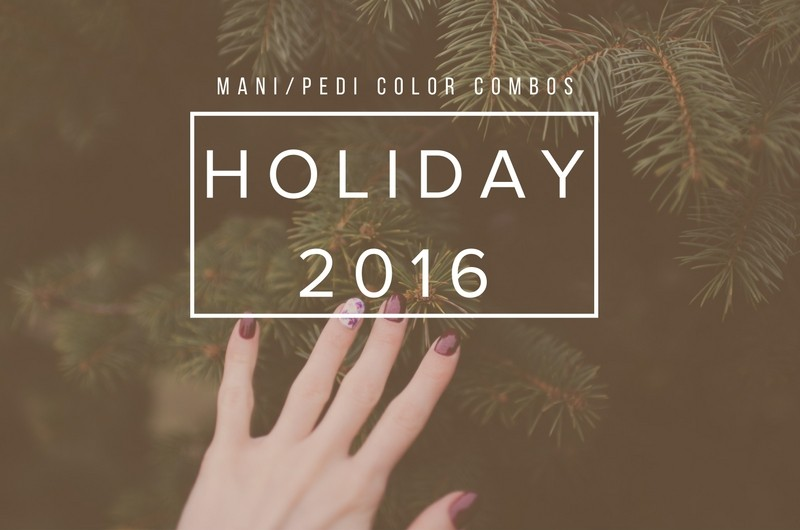 Image for 5 Festive Mani/Pedi Combos for the Holidays