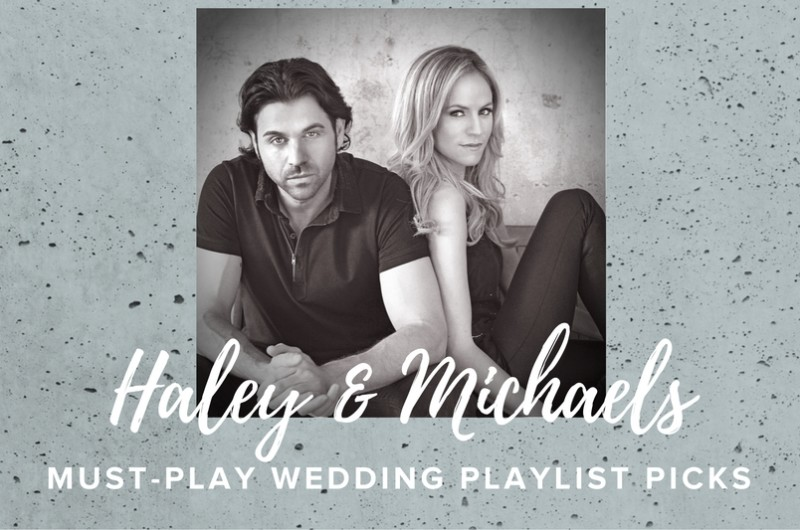 Image for Country Music Stars Haley & Michaels Share the Perfect Wedding Playlist